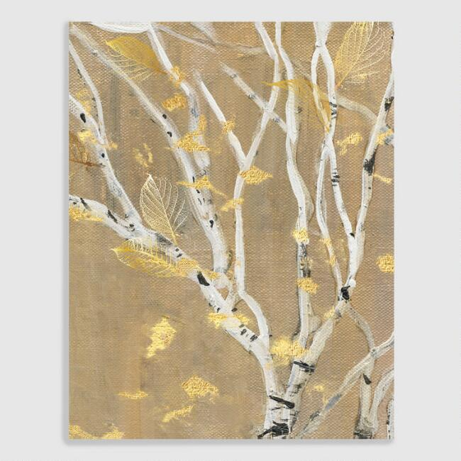 Birch Wood III by Susan Jill