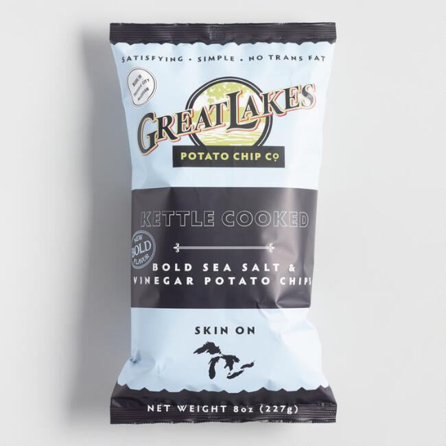 Great Lakes Potato Chip Co. Sea Salt and Vinegar Chips