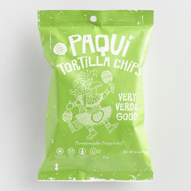 Paqui Very Verde Good Tortilla Chips