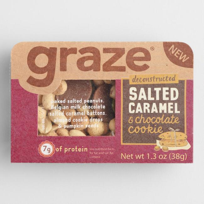 Graze Deconstructed Salted Caramel and Chocolate Cookie