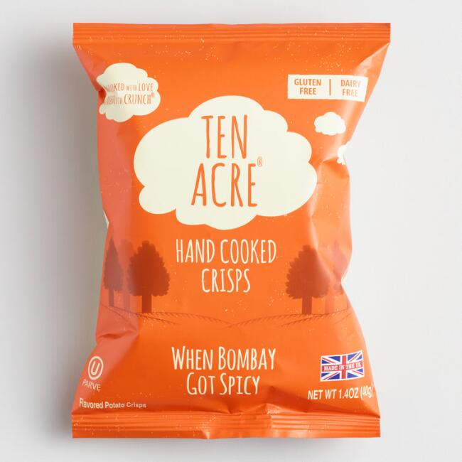 Ten Acre Bombay Spice Hand Cooked Crisps