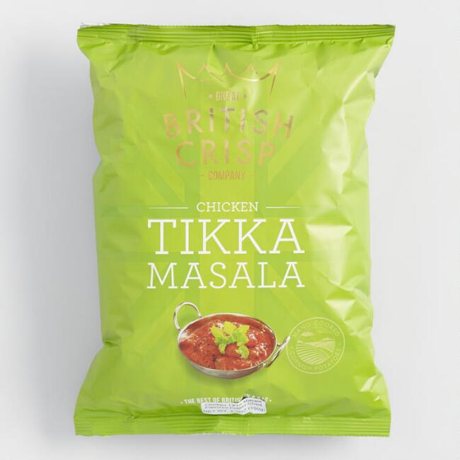 British Crisp Company Chicken Tikka Masala Potato Chips