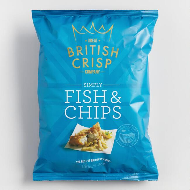 British Crisp Company Fish and Chips Potato Chips