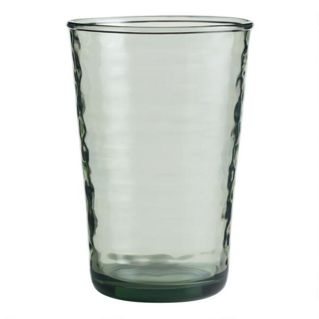 Textured Acrylic Highball Glasses Set of 4