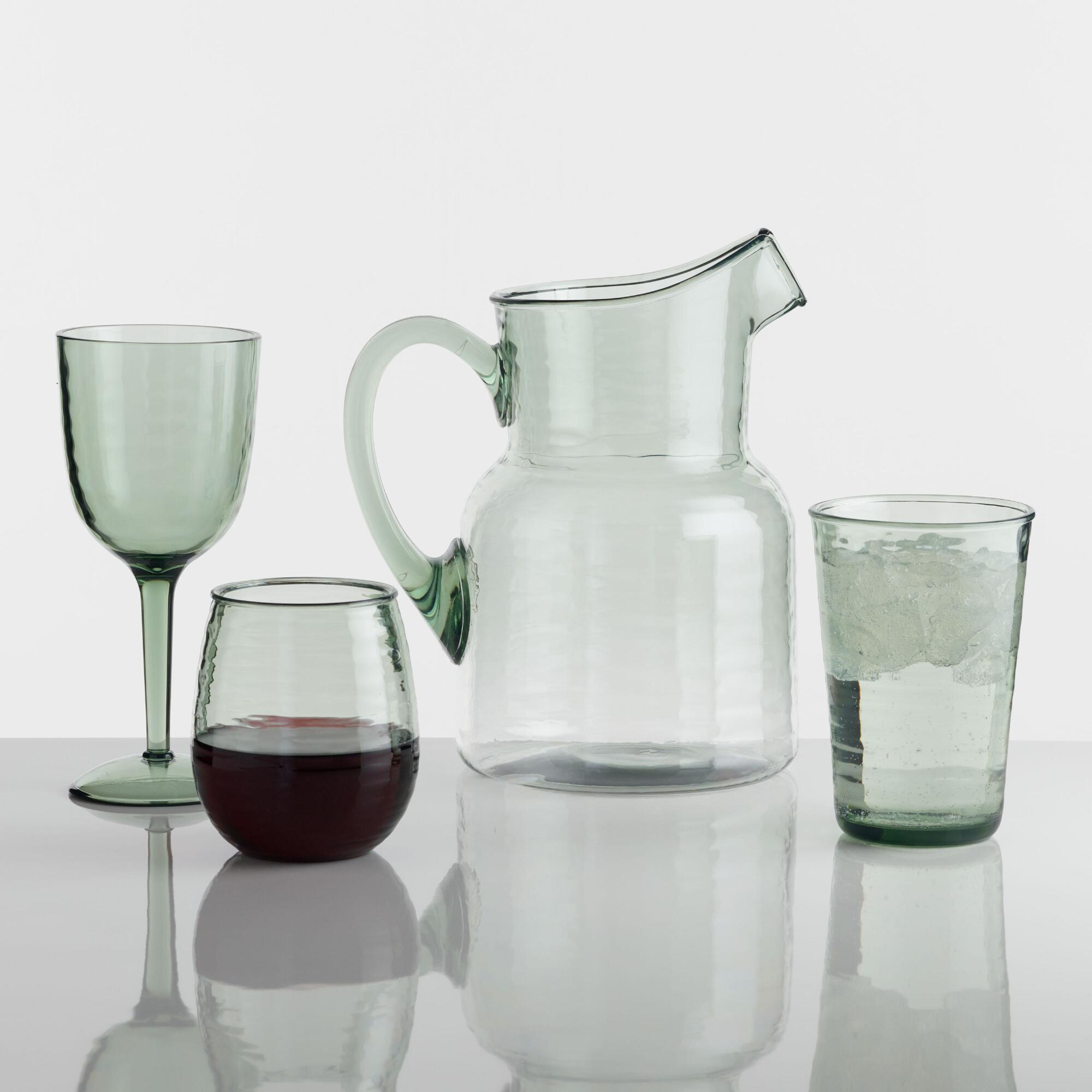 Acrylic Textured Barware Collection by World Market