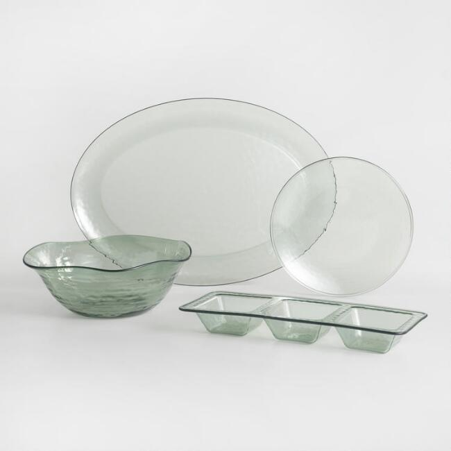 Acrylic Textured Serveware Collection
