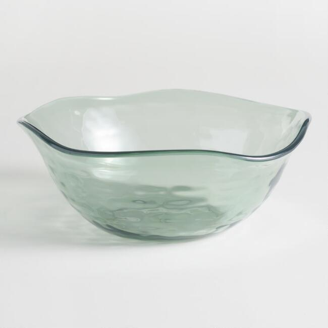 Acrylic Textured Bowls Set of 4