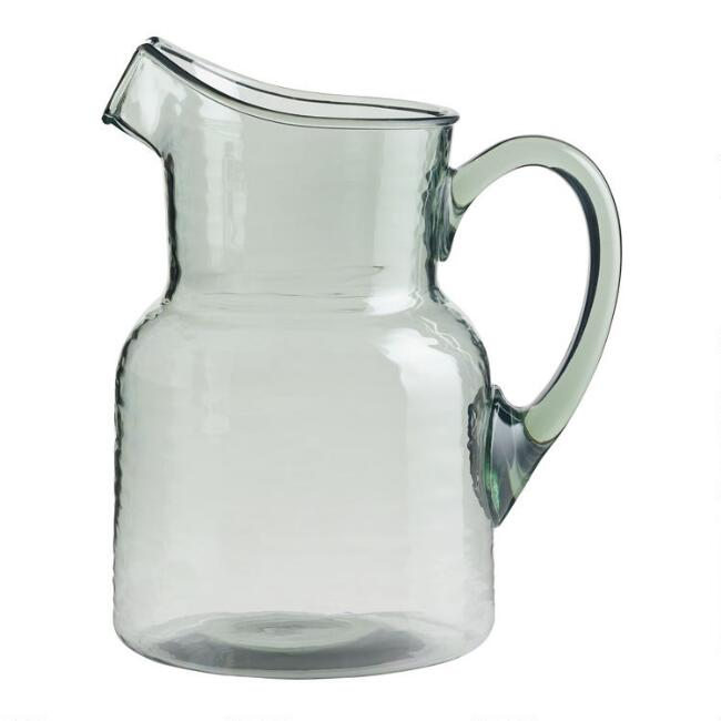 Textured Acrylic Pitcher