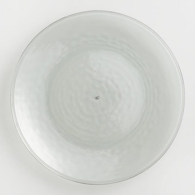 Acrylic Textured Salad Plates Set of 4