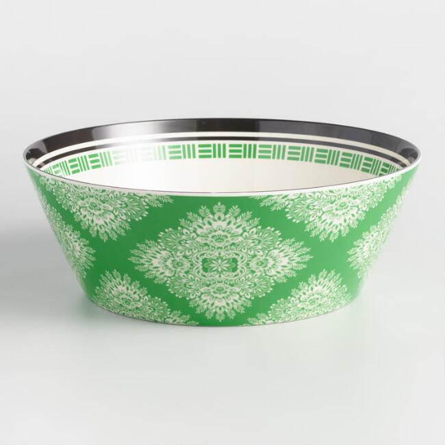 Seaside Melamine Serving Bowl