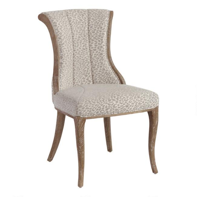 Mali Channel Back Dining Chairs Set of 2