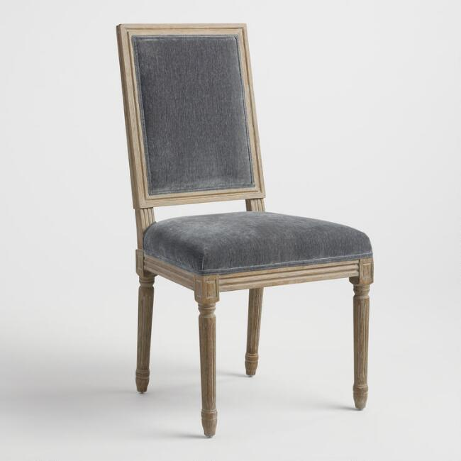 Coal Paige Square Back Dining Chairs Set of 2