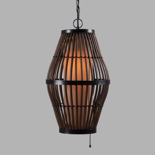 Rattan Outdoor Julian Pendant