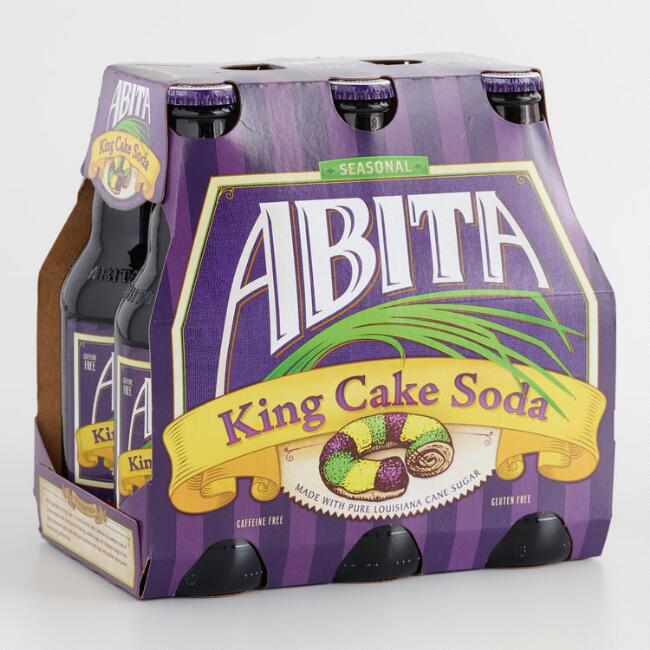 Abita King Cake Soda 6 Pack