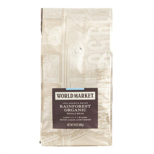 24 oz. World Market® Rainforest Organic Coffee Set of 3