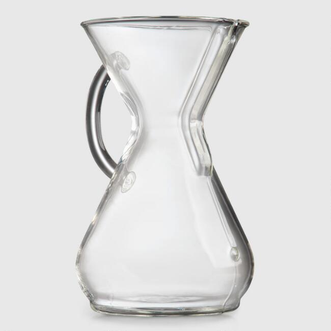 Chemex 8 Cup Glass Coffeemaker with Handle