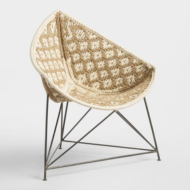 Surprising Jute Triangle Chair Inzonedesignstudio Interior Chair Design Inzonedesignstudiocom