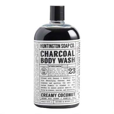 Huntington Coconut Charcoal Body Wash