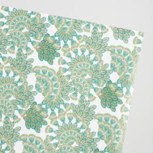 jungle peacock wrapping paper roll - Decorative Paper