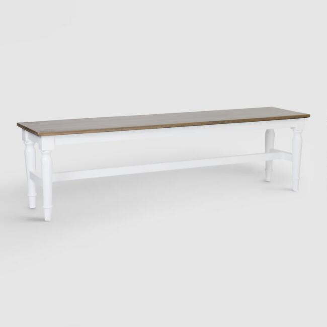 Wood Lyssie Dining Bench