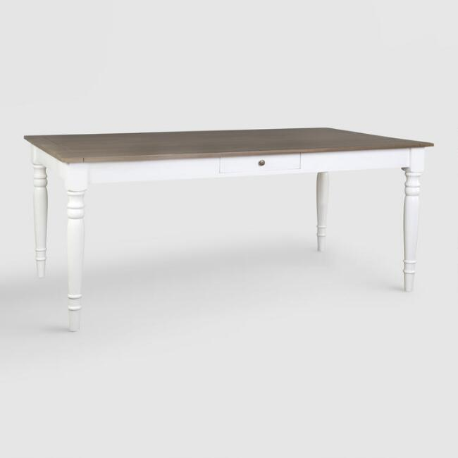 Wood Lyssie Dining Table