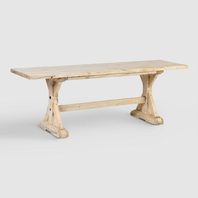 Wood Keaton Dining Bench