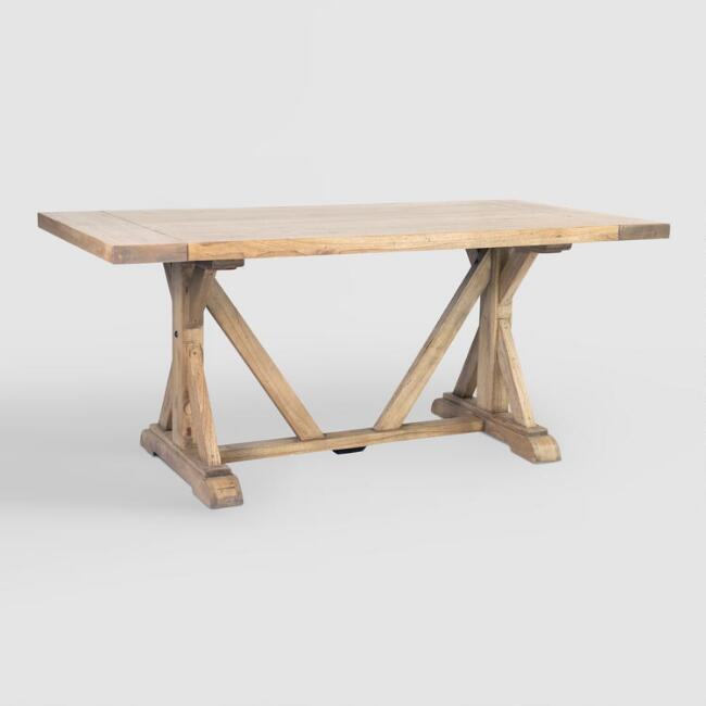 Rectangular Wood Keaton Dining Table