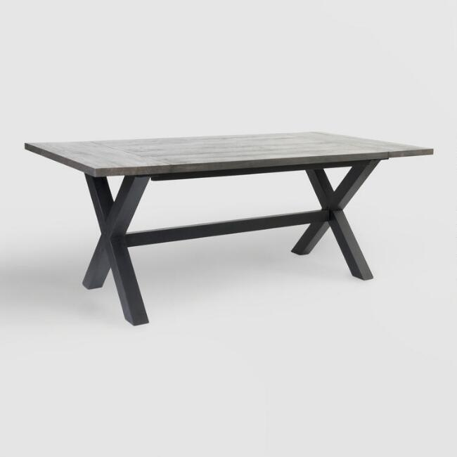 Black Wood Orrin Dining Table