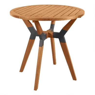 Wood Canary Bistro Table