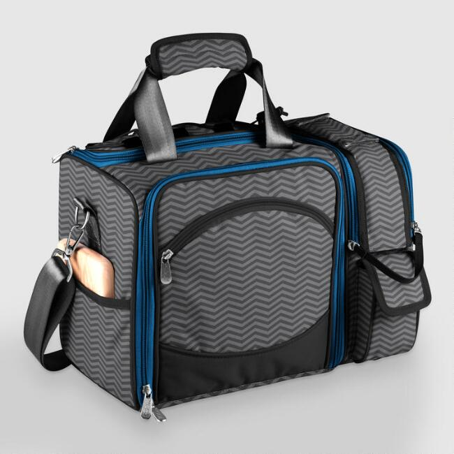 Laguna Waves Insulated Picnic Cooler for Two