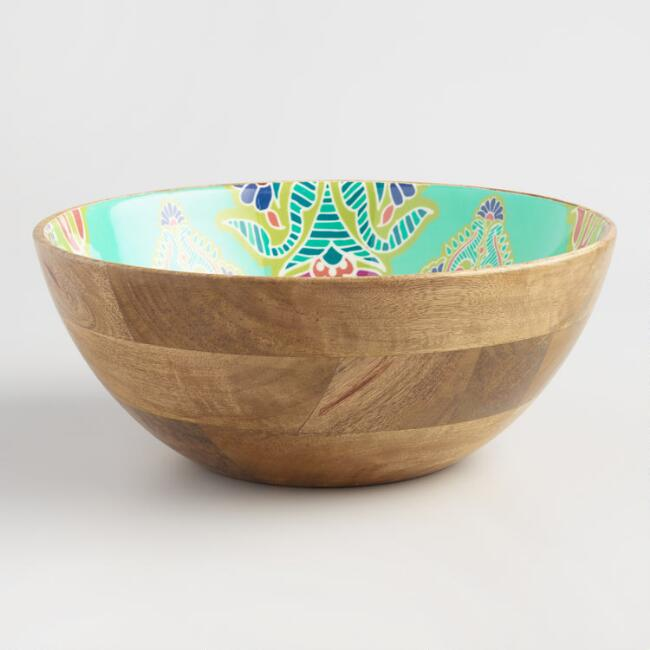 Priti Mango Wood Salad Bowl