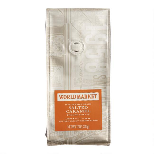 12 Oz. World Market® Salted Caramel Ground Coffee Set Of 6