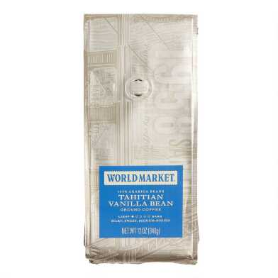 12 oz. World Market® Tahitian Vanilla Bean Coffee Set of 6