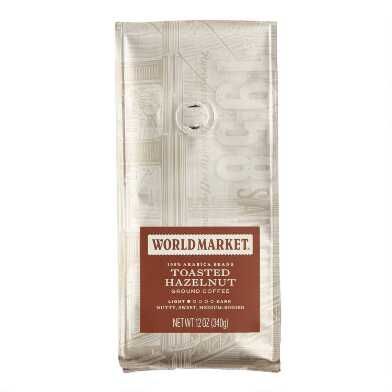 12 Oz. World Market® Toasted Hazelnut Ground Coffee Set Of 6