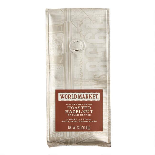 12 oz. World Market® Toasted Hazelnut Coffee Set of 6