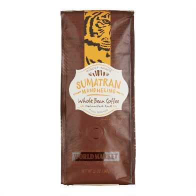 12 oz. World Market® Sumatra Medium Roast Coffee Set of 6
