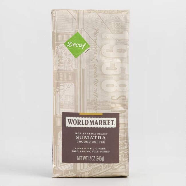 12 oz. World Market® Decaf Sumatra Coffee Set of 6