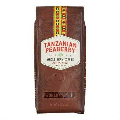 12 oz. World Market® Tanzanian Peaberry Coffee Set of 6