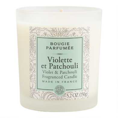 Violet & Patchouli Bougie Parfumee Scented Candle