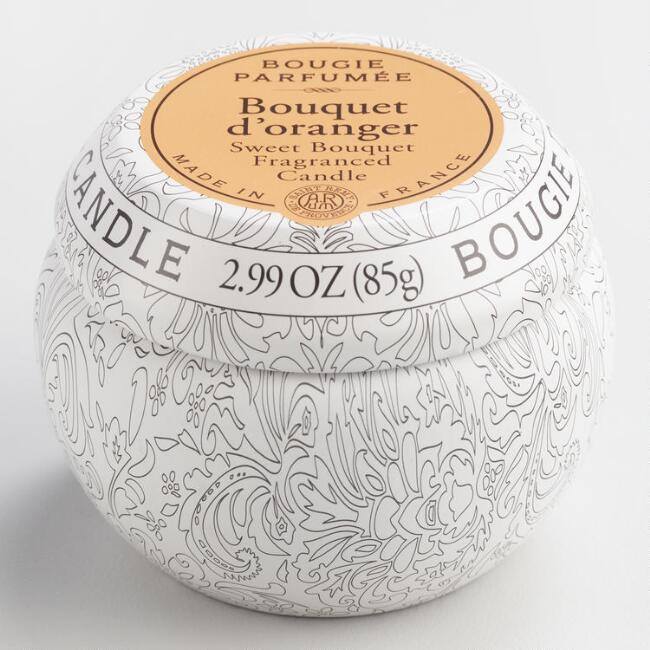 Sweet Bouquet Bougie Travel Candle Tin