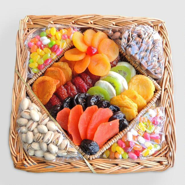 Dried Fruit and Nuts Gift Basket