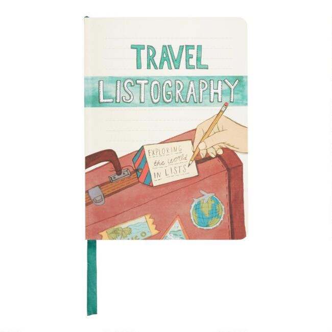 Travel Listography Book by World Market