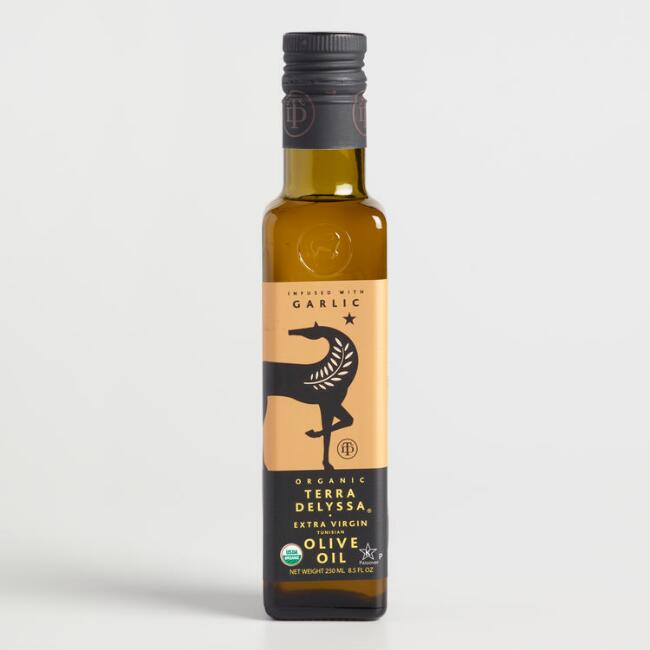 Terra Delyssa Garlic Extra Virgin Olive Oil