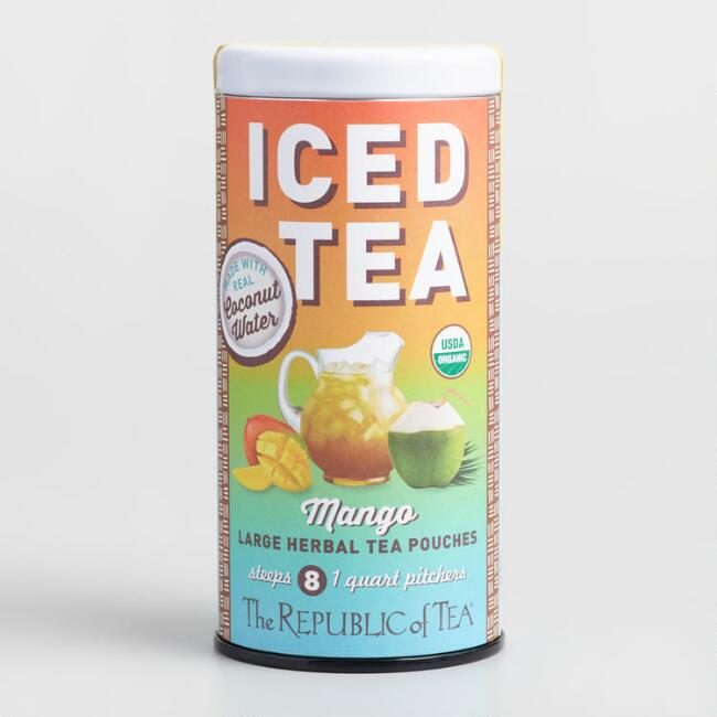 The Republic of Tea Mango Coconut Water Iced Tea