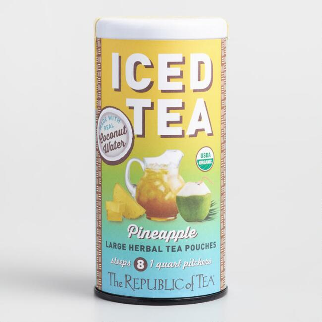 The Republic of Tea Pineapple Coconut Water Iced Tea