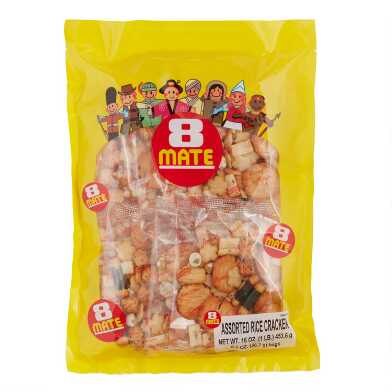 8 Mate Arare Rice Cracker Mix