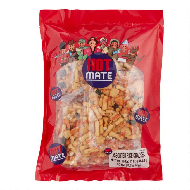 Hot Mate Arare Rice Cracker Mix
