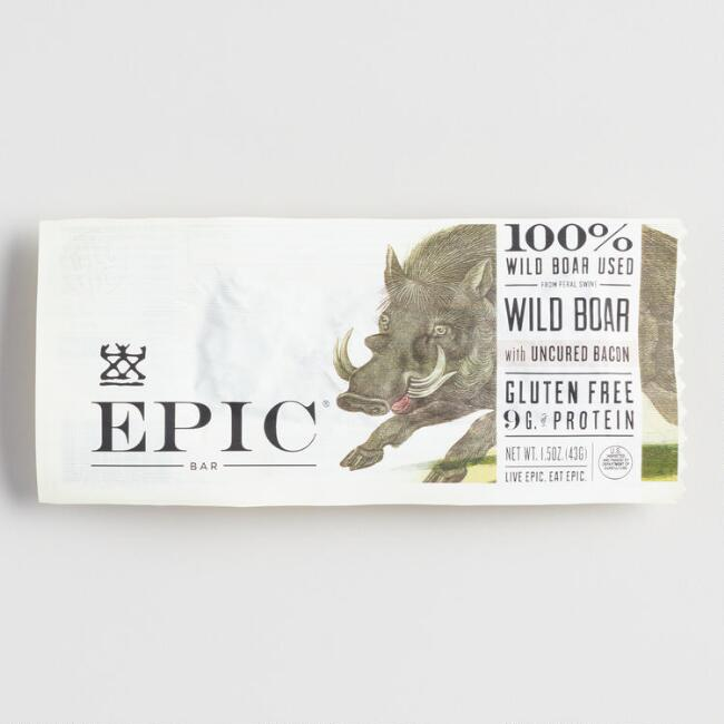 Epic Wild Boar and Bacon Bar