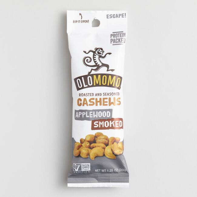 Olomomo Applewood Smoked Cashews