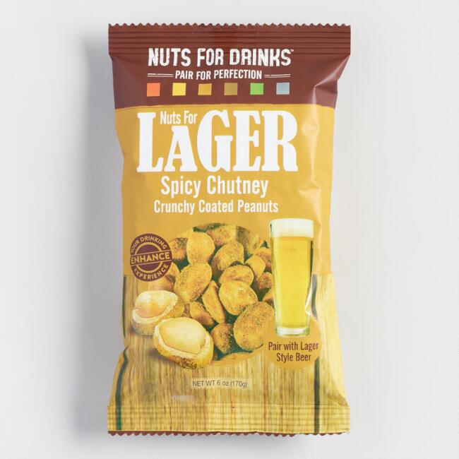 Nuts for Lager Crunchy Coated Peanuts